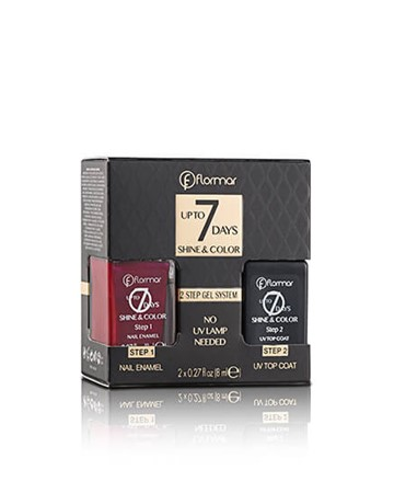 UP TO 7 DAYS SHINE & COLOR NAIL ENAMEL
