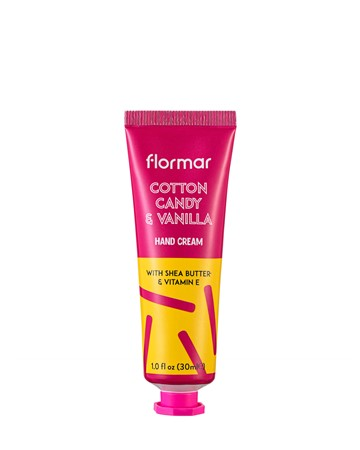 FLORMAR MINI HAND CREAM - COTTON CANDY & VANILLA