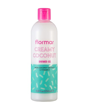 FLORMAR SHOWER GEL -  CREAMY COCONUT