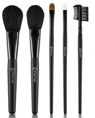 5 PIECES MAKEUP BRUSH SET