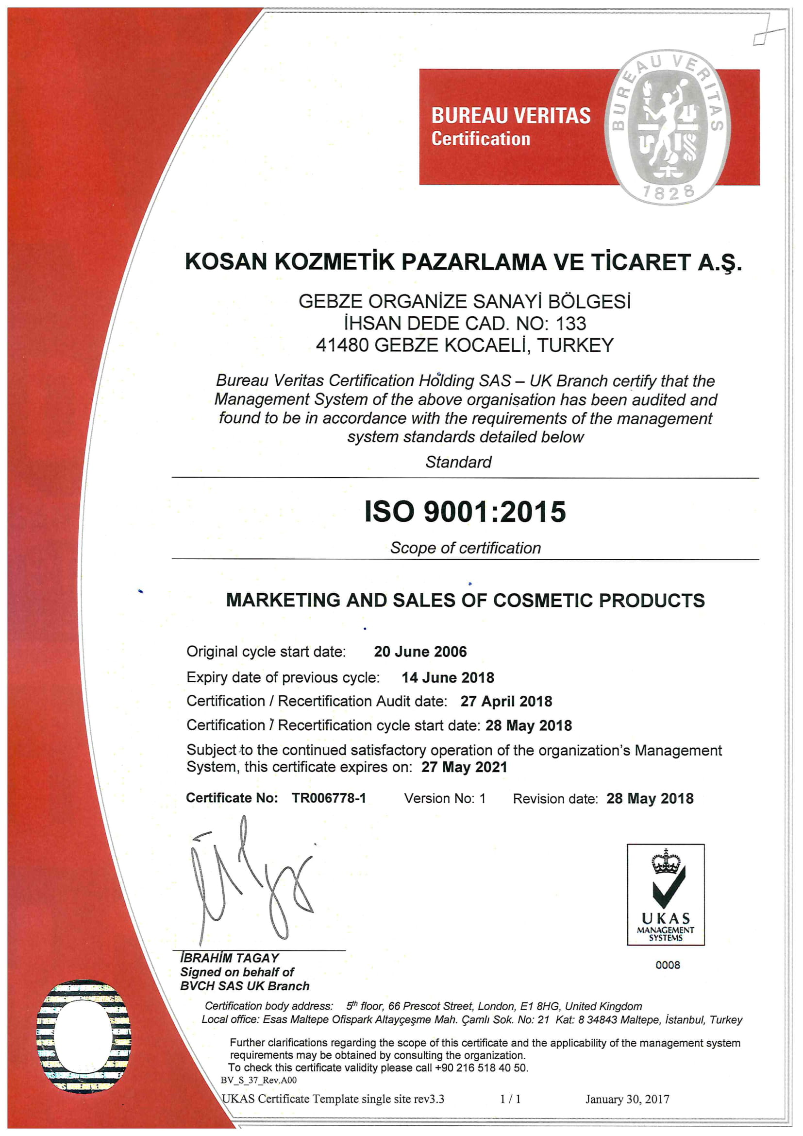 Quality cosmetic marketing certificate yelopaper Choice Image